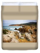 Guincho Cliffs Duvet Cover