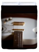 Guitar Glance Duvet Cover