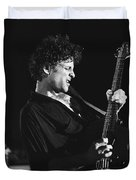 Guitarist Lyndsay Buckingham Duvet Cover