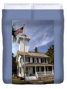Haig Point Lighthouse Duvet Cover