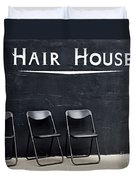 Hair House Duvet Cover
