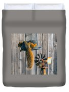 Hanging In There Duvet Cover