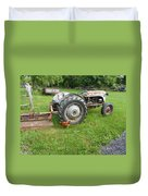 Hard Days Work Farm Tractor Duvet Cover