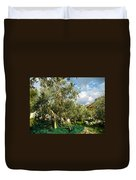 Harvest Day Duvet Cover