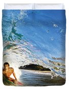 Makena Boogie Boarder Duvet Cover