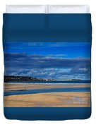 Hayle Estuary Cornwall Duvet Cover