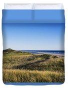 Head Of The Meadow Beach Duvet Cover