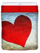 Heart Duvet Cover
