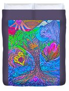 Hearts Of Nature Duvet Cover