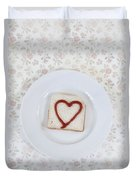 Hearty Toast Duvet Cover
