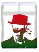 Heisenberg - 2 Duvet Cover