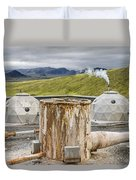 Hellisheidi Power Station Well Duvet Cover