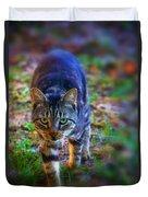 Here Kitty Kitty Duvet Cover