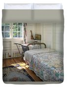 Heritage Cottage Museum On Bowen Island Duvet Cover