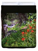 High Country Wildflowers 2 Duvet Cover
