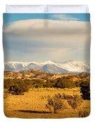 High Desert Plains Landscape Duvet Cover