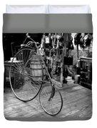 High Wheel 'penny-farthing' Bike Duvet Cover