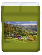 Hillside Acres Farm Duvet Cover