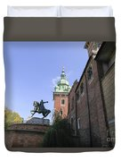 Historic Centre Cracow Poland  Duvet Cover