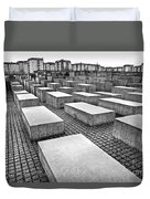 Holocaust Memorial - Berlin Duvet Cover