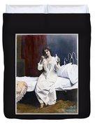 Home Medicine, 1901 Duvet Cover
