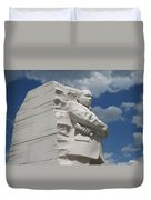 Honoring Martin Luther King Duvet Cover