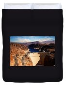 Hoover Dam Nevada Duvet Cover