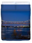 Horace Wilkinson Bridge Duvet Cover