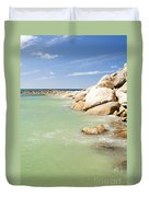 Horseshoe Bay South Australia Duvet Cover