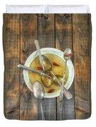 Hot Soup Duvet Cover by Joana Kruse