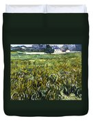 House At Auvers Duvet Cover