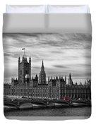 Houses Of Parliament Duvet Cover