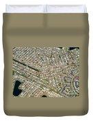 Housing Development, Florida Duvet Cover