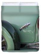 Hudson Hornet Duvet Cover