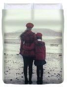 Hugging Duvet Cover