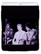 Humble Pie - On To Victory Tour At The Cow Palace S F 5-16-80 Duvet Cover