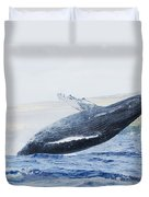 Humpback Whale Duvet Cover