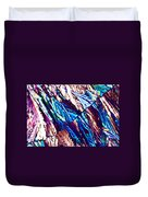 Hydroquinone Crystals In Polarized Light Duvet Cover