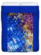 Hydroquinone Microcrystals Color Abstract Art Duvet Cover