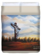 I Am Always With You Duvet Cover