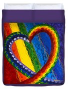 I Am Love Duvet Cover by Judy M Watts-Rohanna