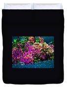 I Love Flowers Duvet Cover
