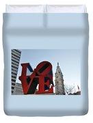 I Love Philadelphia Duvet Cover