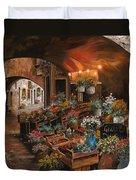 Il Mercato Dei Fiori Duvet Cover