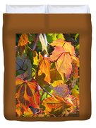 Illumining Autumn Duvet Cover