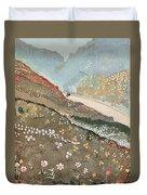 Illustration For Kim By Rudyard Kipling Duvet Cover