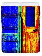 Impressionistic Photo Paint Gs 017 Duvet Cover