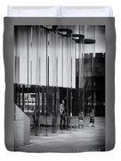 In The Glasshouse Duvet Cover