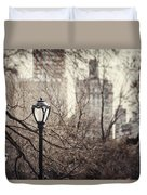 In The Shadow Of The Upper East Side  Duvet Cover