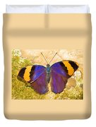 Indian Leaf Butterfly Duvet Cover